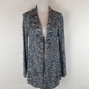 Ralsey Tweed Cable Knit Open Front Cardigan